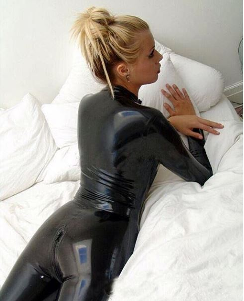 Tease My Sex Partners With Shiny Latex