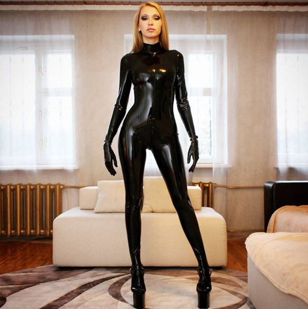 Find A Girl With A Latex Fetish